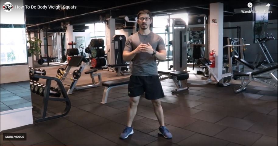 How To Do A Body Weight Squat